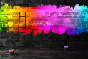 rainbowwebwall